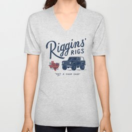 Riggins' Rigs Unisex V-Neck