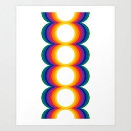 Radiate - Spectrum Art Print