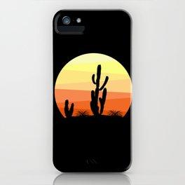 Mexican desert iPhone Case