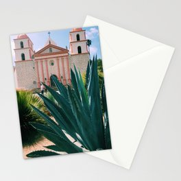 Santa Barbara Mission Stationery Cards