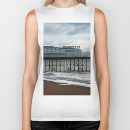 Brighton Pier Biker Tank