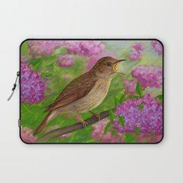 Spring nightingale Laptop Sleeve
