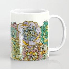 Blooming Succulents Coffee Mug