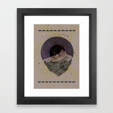 Soulful Gaze Framed Art Print