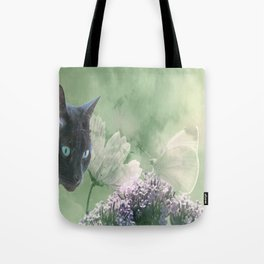 Eye contact ;0) Tote Bag