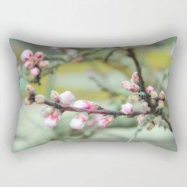 Cherry flower bud Rectangular Pillow
