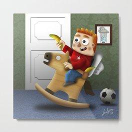 Children's imagination Metal Print
