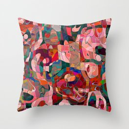 The four seasons - Summer 1 Throw Pillow