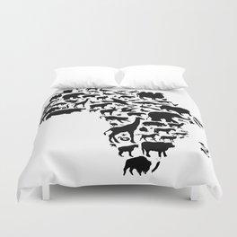 Animals of Africa Duvet Cover
