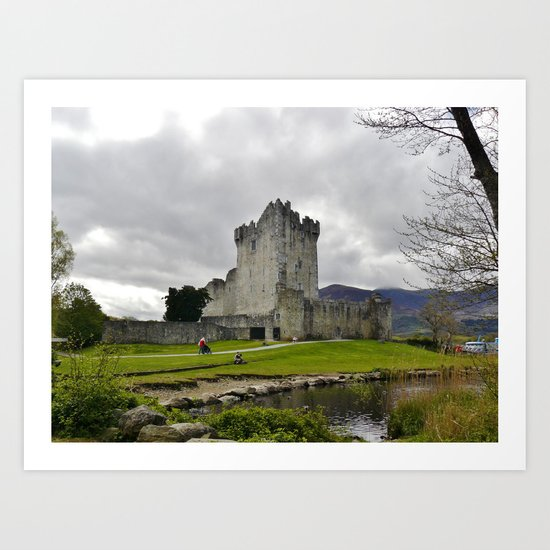 Castle: Ireland Art Print