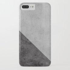 Concrete with black triangle Slim Case iPhone 7 Plus
