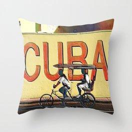 Viva Cuba Libre! Throw Pillow