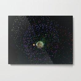 Fireworks 4 Metal Print