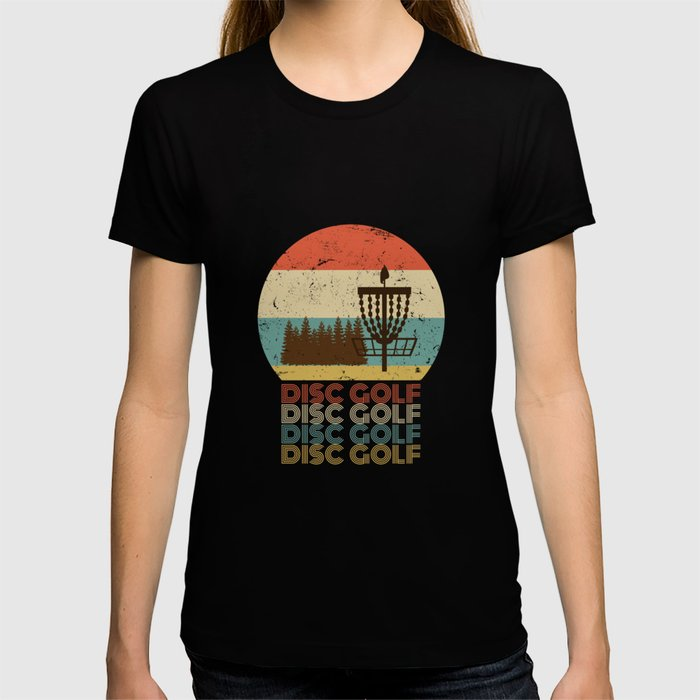 Disc Golf Discgolf Vintage Design T Shirt By Teeshirtmadness Society6