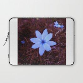 Shambhala Flower White 1a - Scrap Laptop Sleeve