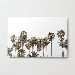 California Palms  //  Travel the World Metal Print