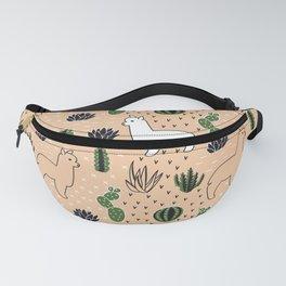 Alpaca&cactus Fanny Pack