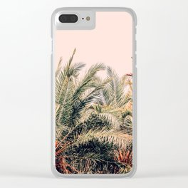 Sun Shower Clear iPhone Case
