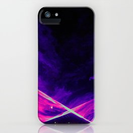 Water Light iPhone Case