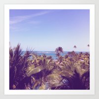 puerto rico Art Prints featuring Puerto Rico by Amelia Guermantes