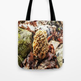 Morel Mushroom in the Wild Tote Bag
