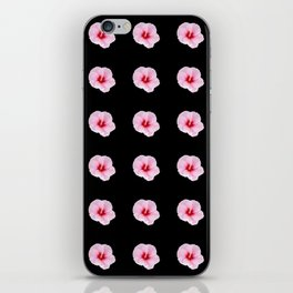 pink flower -bloom,blossom,petal,floral,leaves,flor,garden,nature,plant. iPhone Skin