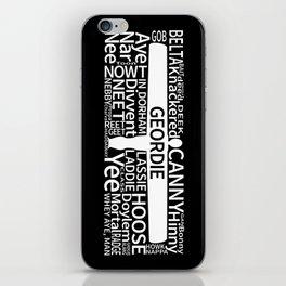 Geordie Slang iPhone Skin