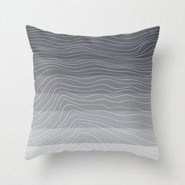 Topography by Friztin Throw Pillow