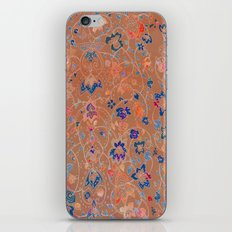 Bali Sunset floral iPhone & iPod Skin
