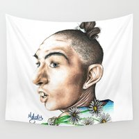 ahs Wall Tapestries featuring Pepper -AHS by MELCHOMM