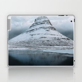 Kirkjufell Mountain in Iceland - Landscape Photography Laptop & iPad Skin