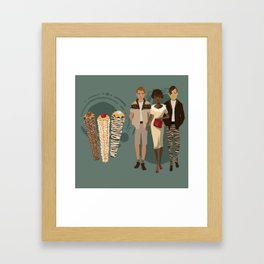 Churros Do Brasil Framed Art Print