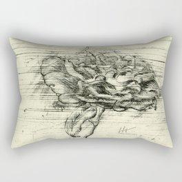 """""""Italian Courtyard Rose"""" Rectangular Pillow"""