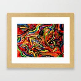 Beautiful Lies Framed Art Print