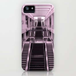 Esclator iPhone Case