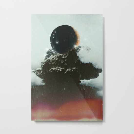 Final Eclipse Metal Print