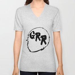Grr Unisex V-Neck