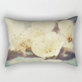 Golden Light Cherryblossom Rectangular Pillow