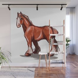 Clydesdale Wall Mural