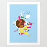 Creative Destruction Art Print