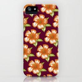 Sawyer Burgundy iPhone Case