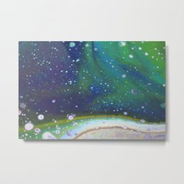 Aurora Skies Metal Print