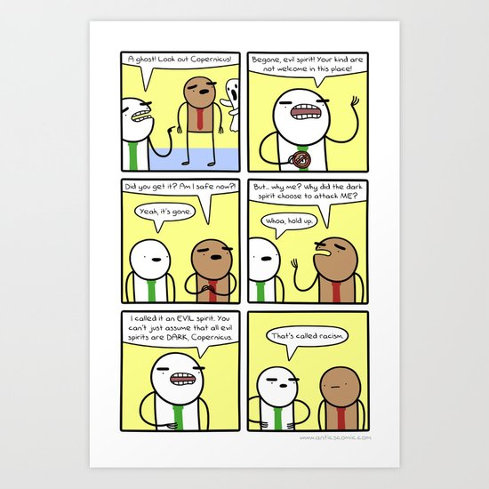 Antics #364 - spectral bigotry Art Print