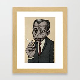James Baldwin Framed Art Print
