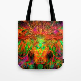 The Flying Shaman (Tribal Zest) Tote Bag