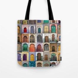 Moorish Doors Montage Tote Bag