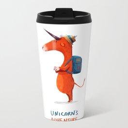 Unicorn's adventure Metal Travel Mug