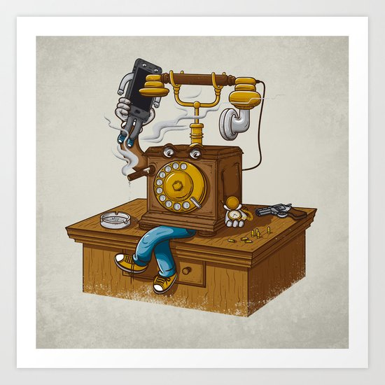 Criminal Business Art Print