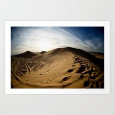 Clothes of Sand Art Print