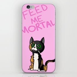 Molly the Evil Cat iPhone Skin